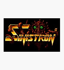 Sinistron - Turbografx/PC-Engine Title Screen Photographic Print