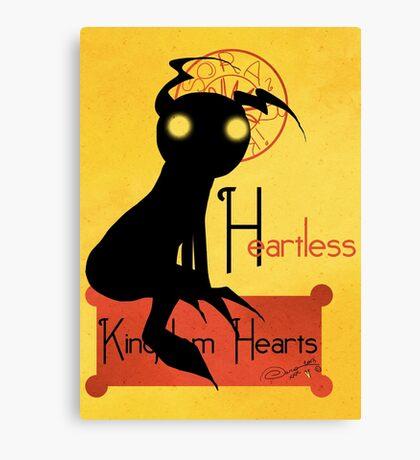 Heartless noir Canvas Print