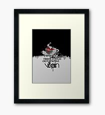 Moriarty fairytale Framed Print