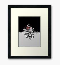 Moriarty fairytale Framed Print