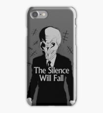 SILENCE iPhone Case/Skin