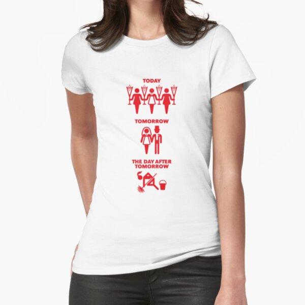 Aujourd'hui - Demain - Le jour après demain (Hen Party / Red) T-shirt moulant