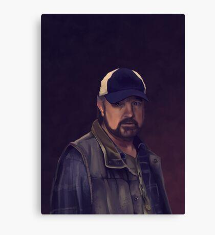 Bobby Singer Canvas Print