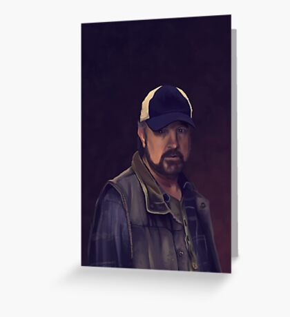 Bobby Singer Greeting Card