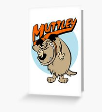 Muttley Laughing Greeting Card