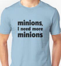 Minions, I Need More Minions T-Shirt