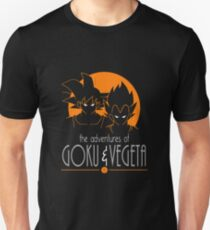 The Adventures Of Goku & Vegeta Unisex T-Shirt