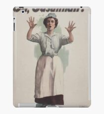 Performing Arts Posters Charles Frohmans new comedy Oh Susannah 0846 iPad Case/Skin