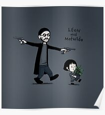 Leon and Mathilda Poster