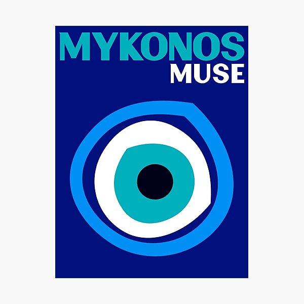 MYKONOS MUSE Photographic Print