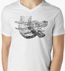 Dragon Sketch Men's V-Neck T-Shirt