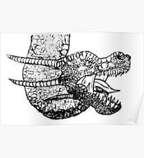 Dragon Sketch Poster