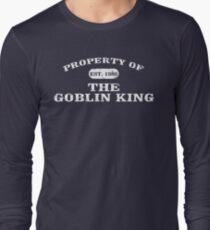 Eigentum des Goblinkönigs Langarmshirt
