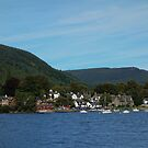 A view of Kenmore, Perthshire, Scotland by Agnes McGuinness