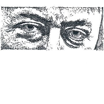 Christopher Hitchens eyes by SecularInk