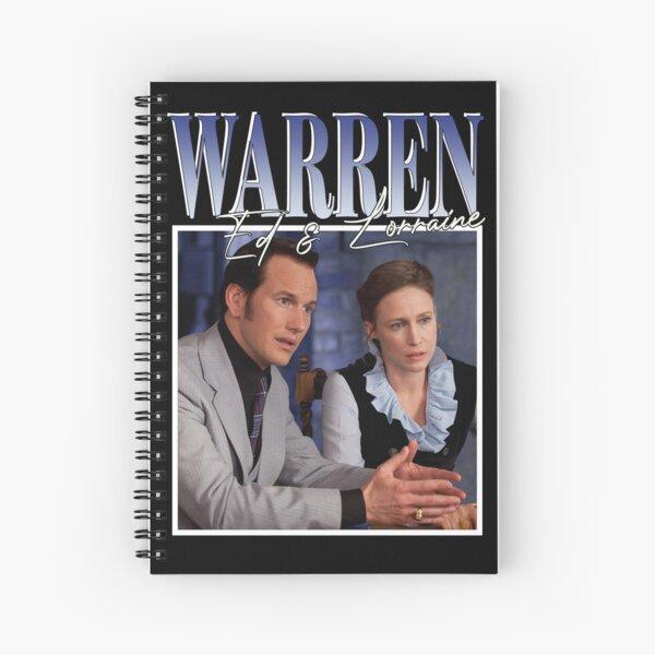 Ed & Lorraine Warren Spiral Notebook