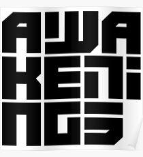 Awakenings Techno  Poster