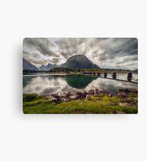Norwegian scenery Canvas Print