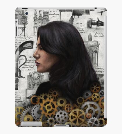 The Past is the Beginning of a Beginning iPad Case/Skin