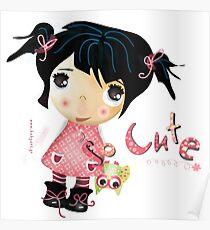 cute girl Poster