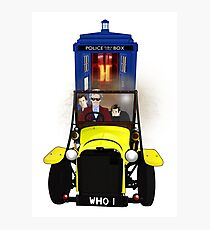 Time Lord Road Trip! Photographic Print