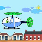 The Helicopter by RosiLorz