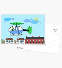 The Helicopter Postcards