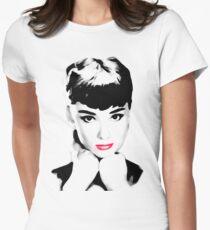 audrey hepburn t-shirt Women's Fitted T-Shirt