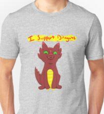 I Support Dragons  Unisex T-Shirt