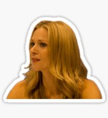 AJ Cook licking her lips Sticker