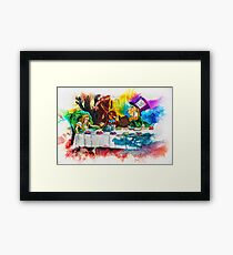 You're Late For Tea! Framed Print