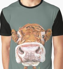 Cute Cow Graphic T-Shirt