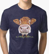 Süße Kuh Vintage T-Shirt