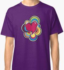 Retro Heart Classic T-Shirt