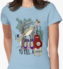 To Kill a Mockingbird (colour) Women's Fitted T-Shirt