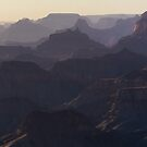 Grand Canyon At Dusk by solutionary