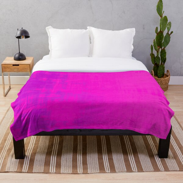 rose pink abstract wash by dePace' Throw Blanket