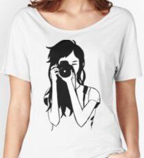 Photographer Girl Women's Relaxed Fit T-Shirt