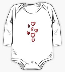 Unbreakable hearts red One Piece - Long Sleeve