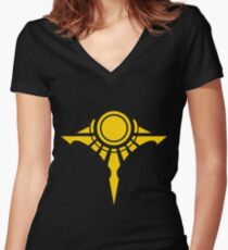Shurima Women's Fitted V-Neck T-Shirt