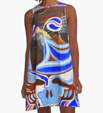 Steal Your Phils Design 1 A-Line Dress