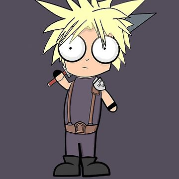 Cloud Strife? by Dave-The-Rave