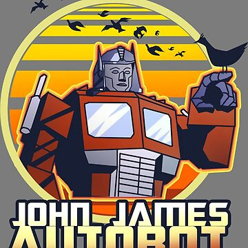 John James Autobot by deathpoodle