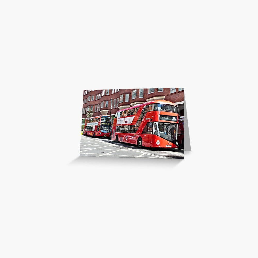 New Routemaster London Bus Greeting Card