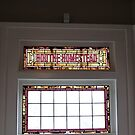 Stained Glass Window by Gail Falcon