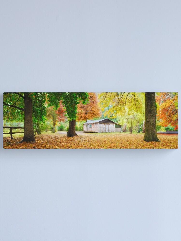 Alternate view of Pickerings Hut, Howqua Hills, Victoria, Australia Canvas Print