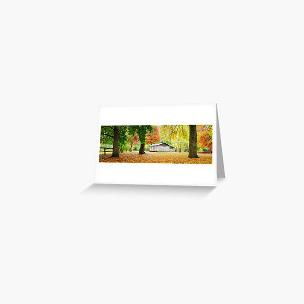 Pickerings Hut, Howqua Hills, Victoria, Australia Greeting Card