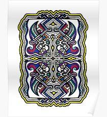 SYMMETRY - Design 005 (Color) Poster
