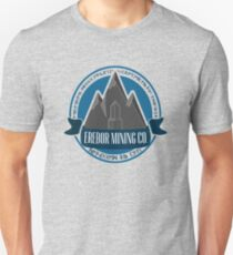 Erebor Mining Company Slim Fit T-Shirt