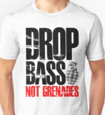 Drop Bass Not Grenades (black/red) T-Shirt